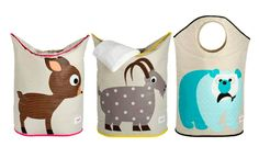Cestos para la ropa de 3 Sprouts. http://www.cktiendaonline.es/decora-su-habitacion/cestos-ropa-3-sprouts