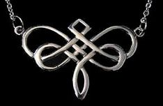"""Dragonfly Celtic Infinity Knot Sterling Silver .925 pendant Charm includes 18"""" Necklace Wholesale Hand Casted crafted Jewelry. $54.82, via Etsy."""