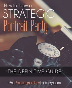 Kickstart your photography business with a STRATEGIC portrait party! In this in-depth solo episode, I discuss how to throw a strategic portrait party that will seriously help you stand out from oth…