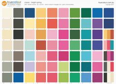 I like this one best: TCI Bright Spring classic palette Bright Spring, Clear Spring, Clear Winter, Warm Spring, Spring Color Palette, Spring Colors, Seasonal Color Analysis, Lighted Canvas, Color Me Beautiful