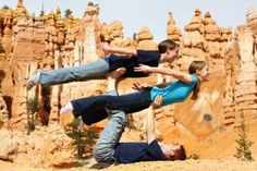 Kiya, Sarah, and  Spencer in Bryce Canyon. April 26, 2012 Kodak picture of the day