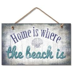 Beach Style Novelty Signs by Handcrafted Nautical Decor