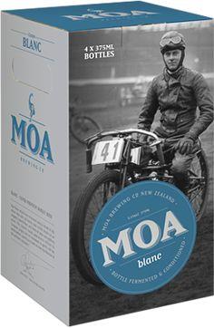 Moa Beer Packaging   @Oh Beautiful Beer