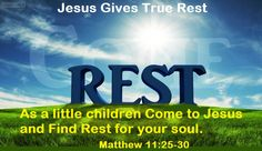 """Good Morning from Trinity, TX  Today is Friday August 28, 2015  Day 240 on the 2015 Journey  Make It A Great Day, Everyday!  As  little children Come to Jesus and Find Rest for your soul.  Today's Scripture: Matthew 11:25-30 https://www.biblegateway.com/passage/?search=Matthew+11%3A25-30&version=NKJV ...""""Come to me, all you who are weary and burdened, and I will give you rest... Inspirational Song  https://youtu.be/3FrEmqyM4-k"""