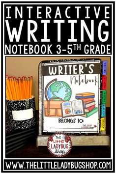 Grow your writers with this fully packed Writing Interactive Notebook Bundle! Over 200 pages included This writing notebook is detailed and includes components to well rounded writing curriculum. Use this Writing Notebook to build a strong foundation and a love for writing. Included Expository, Narrative Writing, Writing Process. Perfect for 3rd grade, 4th grade, home school classrooms #writingnotebook #writingprocess