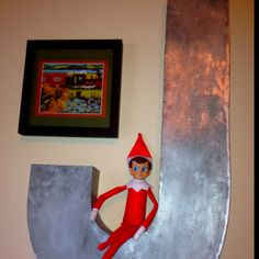 This elf is brought to you by the letter J!