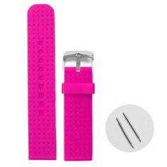 22mm Purpurová farba Silikónové Jelly Guma dámske hodinky kapela popruhy WB1053G22JB