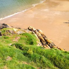 Tenby Golf Courses, Spaces, Water, Outdoor, Gripe Water, Outdoors, Outdoor Games, Outdoor Living