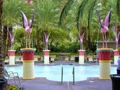 Las Vegas, The Flamingo Hotel