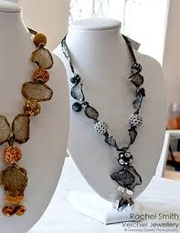 Here are a few more of my wire mesh necklaces!  Made by Rachel smith www.verchieljewellery.co.,uk