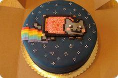 Tortas pasteles forma de gato