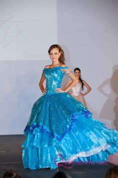 Have you always wanted to be a mermaid? This under the sea inspired quince dress will make your wished come true!