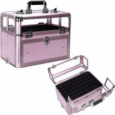 Storage Box Professional Tech Case Acrylic Train Sunrise Nail Polish Organizer  sc 1 st  Pinterest & 1221 best OPI Nail Polish Storage Case images on Pinterest | Beauty ...