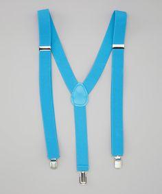Loving this Blue Suspenders on #zulily! #zulilyfinds