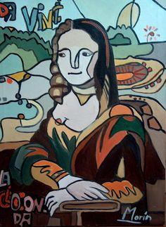 La Gioconda [Gloria E. Marin] (Gioconda / Mona Lisa)