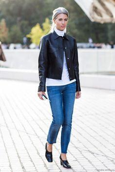 Paris Fashion Week / Street Style #streetstyle #fashion #streetfashion