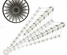 Crochet Dreamcatcher Pattern, Crochet Mandala Pattern, Crochet Diagram, Doily Patterns, Crochet Doilies, Crochet Stitches, Crochet Patterns, Doily Art, Dream Catcher Decor