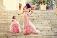 Chic Mother And Daughter Dresses Girl's Pageant Dresses Pink Ruffles Sleeveless Flower Girl's Dresses_Flower Girls Dresses_Wedding Party Dresses_Buy High Quality Dresses from Dress Factory Pink Flower Girl Dresses, Flower Girls, Baby Flower, Fuchsia Flower, Girls Pageant Dresses, Mermaid Prom Dresses, Pageant Gowns, Baby Pageant, Pageant Wear