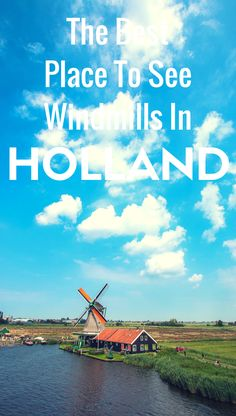 Who doesn't want that iconic windmill selfie from your holiday to the Netherlands? It's an essential ingredient in the classic Holland bucket list: stay in a houseboat, wear over-sized clogs, stroll along the canals and take a photo with a windmill (frilly dress completely optional).  While I won't deny Zaanse Schans is shamelessly touristy, it's still a fun day out, plus you can check off several Dutch bucket list photos in one spot.  Travel. Holland. Netherlands.