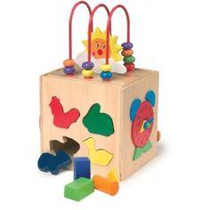 Multifunkčná drevená kocka Cubes, Gifs, Kids Board, Active, Toothbrush Holder, More Fun, Boutique, Friends, Baby
