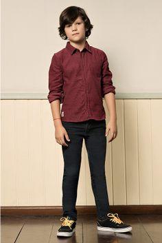 M2A Jeans | Fall Winter 2014 | Kids Collection | Outono Inverno 2014 | Coleção Infantil | peças | camisa infantil; calça jeans infantil.