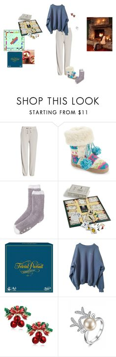 """""""Best New Year's Eve Party Ever"""" by carolmelton ❤ liked on Polyvore featuring Vince, Muk Luks, Karen Neuburger, Lagos, Winning Solutions and Hasbro"""