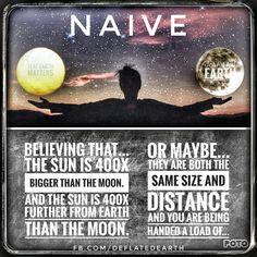 Flat Earth - Naive