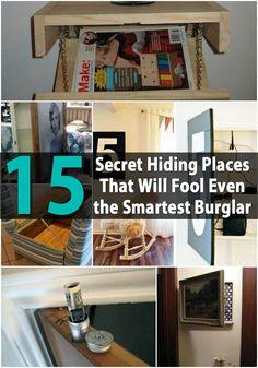 15 Secret Hiding Places That Will Fool Even the Smartest Burglar