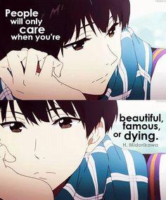 Damn yeah   Anime:Kyoukai no kanata