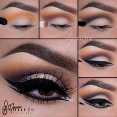 Eye Makeup Tips – How To Apply Eyeliner – Makeup Design Ideas Eye Makeup Glitter, Blue Eye Makeup, Eye Makeup Tips, Makeup Geek, Makeup Ideas, Makeup Hacks, Basic Makeup, Lip Makeup, Makeup For Small Eyes