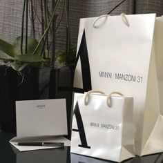 Armani Hotel, Italy Fashion, Summer Sale, Paper Shopping Bag, Tote Bag, Bags, Instagram, Paper Bags, Paper Envelopes