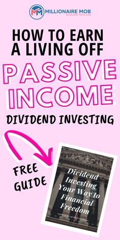 Live off Passive Income for life so you can relax more and be rich! Use this FRE… Live off Passive Passive Income Opportunities, Passive Income Streams, Investment Tips, Investment Portfolio, Investing In Stocks, Investing Money, How To Start A Blog, How To Make Money, Dividend Investing