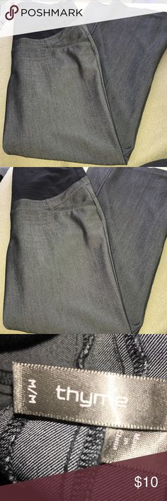 Thyme Brand Maternity Pants Black maternity boot cut pants in great condition, size medium. This price is a steal! 😊 Thyme Pants Boot Cut & Flare