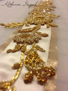 Katherine Diuguid: Leslie's Wedding Belt: Packed up and Shipped Out ...