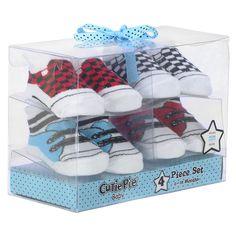 "Cutie Pie 4-Piece Sock Box Set - Sneakers - (One Size) - Cutie Pie Baby - Babies ""R"" Us $7.99"