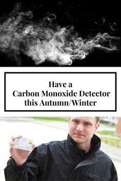 Have a Carbon Monoxide Detector this Autumn/Winter