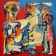 Peter Hermans is geboren in Weert in 1950. Op 14 jarige leeftijd is Peter begonnen met tekenen en schilderen en werd geïnspireerd door Picasso, Lucebert, Constant Permeke en Karel Appel. Zijn huidige stijl ontwikkelde zich na meerdere omzwervingen welke hij heeft opgedaan in het dagelijks leven, musea en kunstboeken.