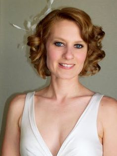 1930s Wedding Hairstyle in Modern Times