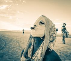 A masked figure From #treyratcliff at www.StuckInCustom... - all images Creative Commons Noncommercial.