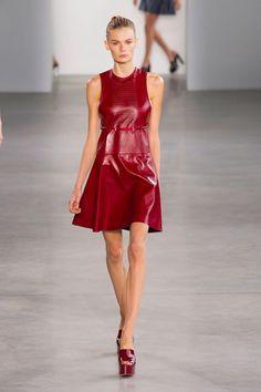 Calvin Klein Spring 2015 Ready-to-Wear - Calvin Klein Ready-to-Wear Collection