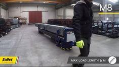 M8 Zallys, Elektrická Ručne Vedená Platforma Pre Prepravu Oceľových Týči A Potrubie. Dvě verzie: max. 4m; max. 6m. Plošina M8 môže byť použitá pre menej náročné aplikácie vyžadujúce ťahanie nákladov alebo na prepravu oceľových tyčí a potrubia. Rýchlost' - 4km/h; Nosnost' platformy 3 000 kg (4 000kg na požiadanie); Max. Sklon 15%. Vyrobené v Taliansku. Monster Trucks, Vehicles, Car, Vehicle, Tools