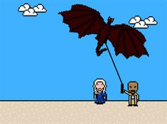 """Game Of Thrones""' 14 Most Brutal Deaths, As 8-Bit GIFs - s03e04 #got #agot #asoiaf"