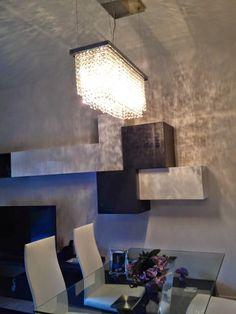 LED Lampadari a Sospensione Moderni, Drop Rai Palla di cristallo ...