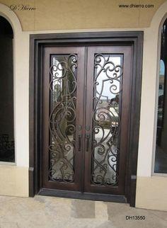 glass double front door. Iron Doors - Exterior Eclectic Front Dallas By D\u0027Hierro Glass Double Door