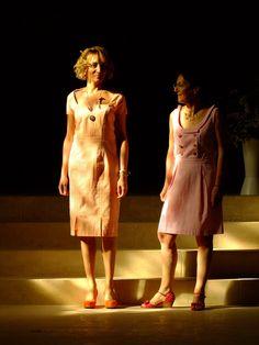 Robes Rebecca et Marlène coton seersucker