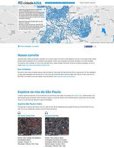 Blue City São Paulo platform Challenge, Blue City, Platform, Design, Ticket Invitation, City, Blue, Heel