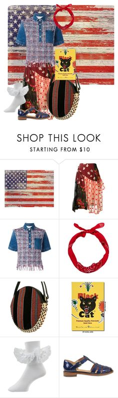 """""""Freedom"""" by heather-ramaekers ❤ liked on Polyvore featuring Simone Rocha, MSGM, Paco Rabanne and Church's"""