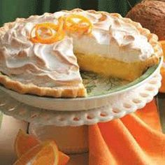 Orange Pie With Meringe Topping, Florida Gastronomy, Specialty In Florida, What To Eat In Florida, Florida Cuisine, Florida Speciality, Cuisine in Florida