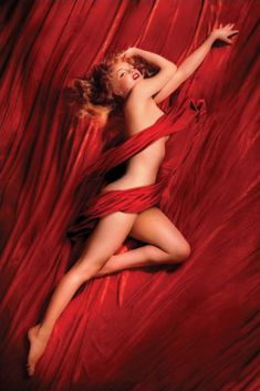 """Marilyn Monroe """"Red Velvet"""" Poster -     Photographer Tom Kelley's calendar photo of the nude Marilyn Monroe was the image that launched the first Playboy magazine, the centerfold photo. This magazine became an icon of America's cultural history. Measures 24"""" x 36"""".  http://www.hollywoodmegastore.com/cgi-bin/VirtualCatalog3/CatalogMgr.pl?cartID=b-4435&SearchField=partnumber,description,details,cost&SearchFor=poster&offset=261&displayNumber=10&template=Htx/search.htx    Only: $8.99"""