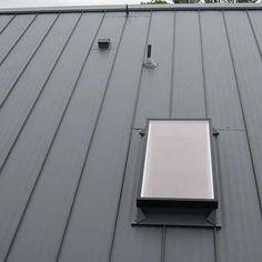 Skylights In Metal Roof In 2019 Metal Building Homes